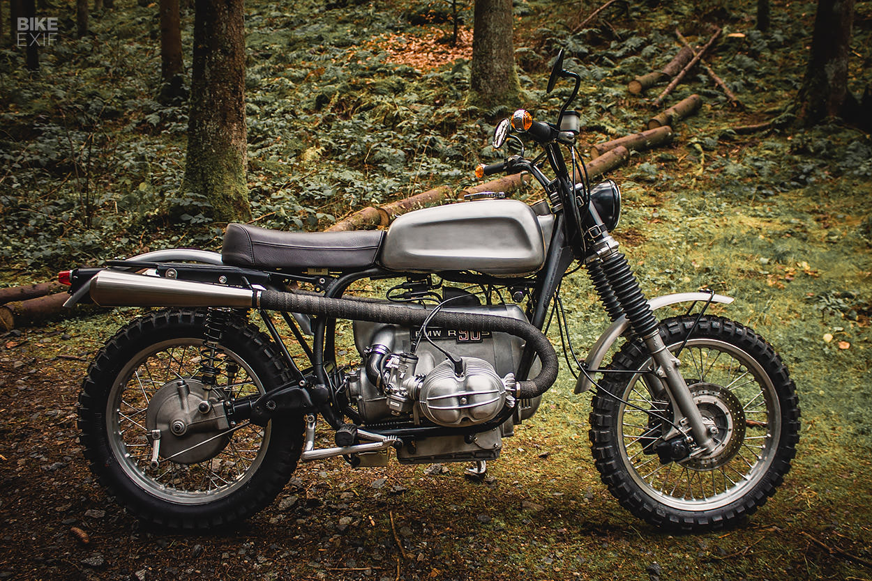 1976 BMW R90S converted into an enduro