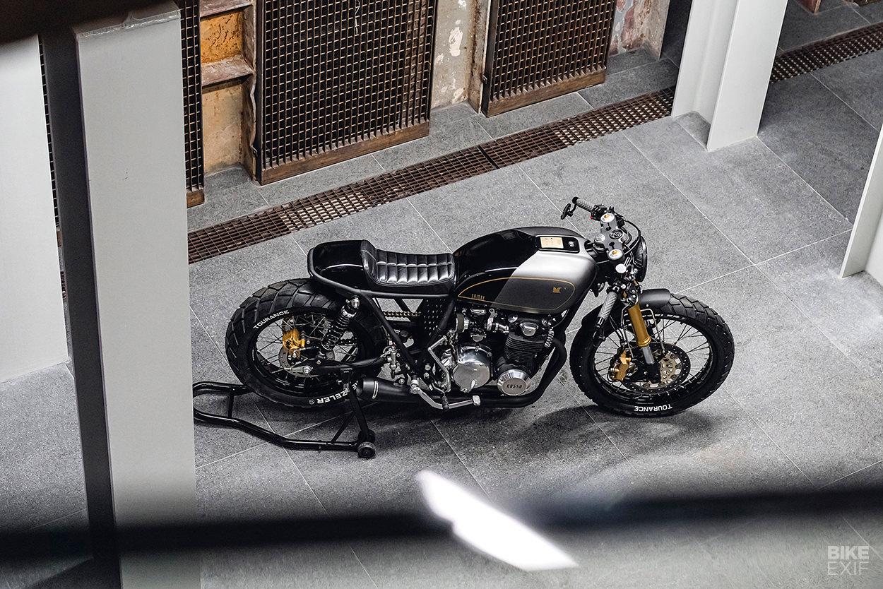 1977 Honda CB550 cafe racer
