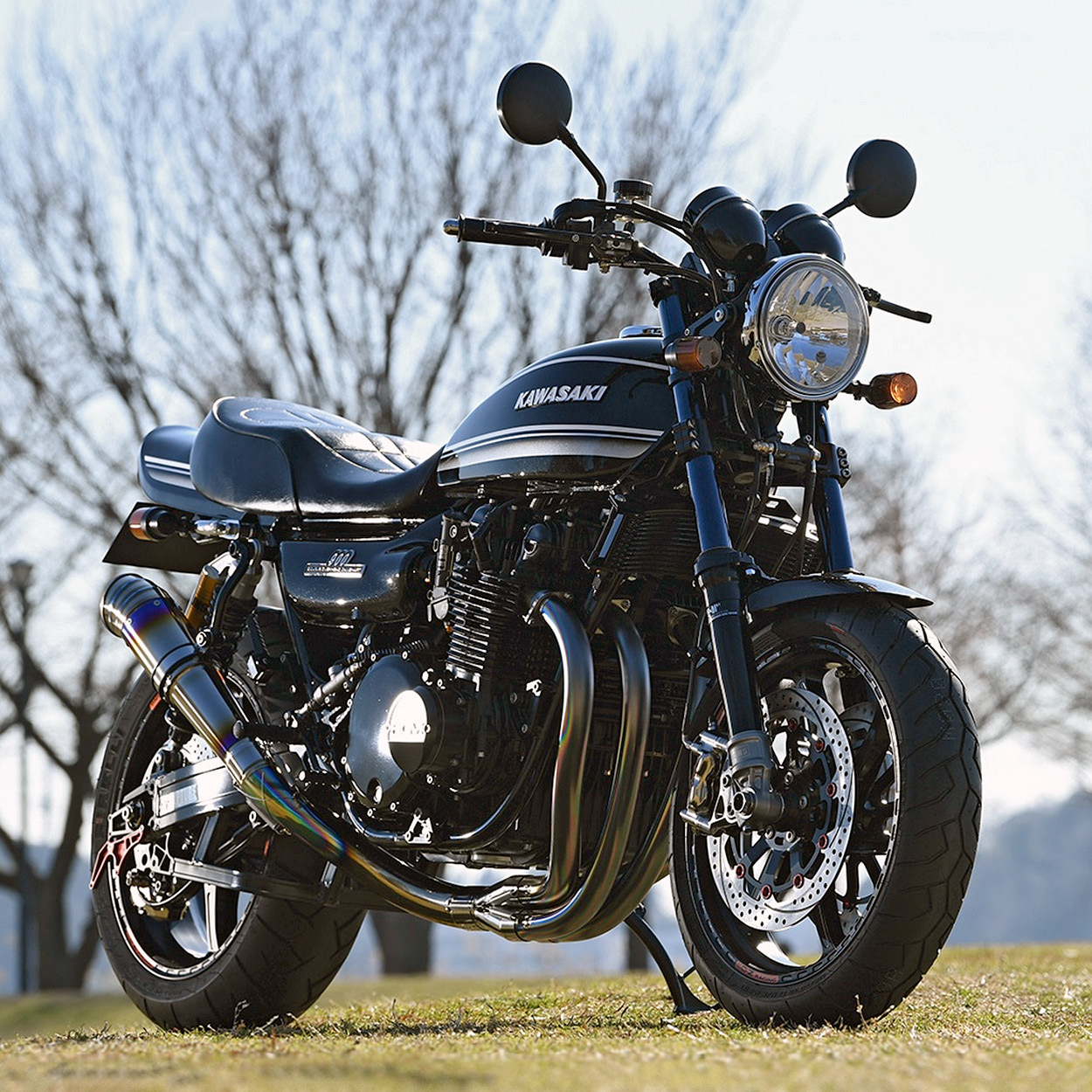 RCM-507: A new AC Sanctuary Kawasaki Z1 restomod