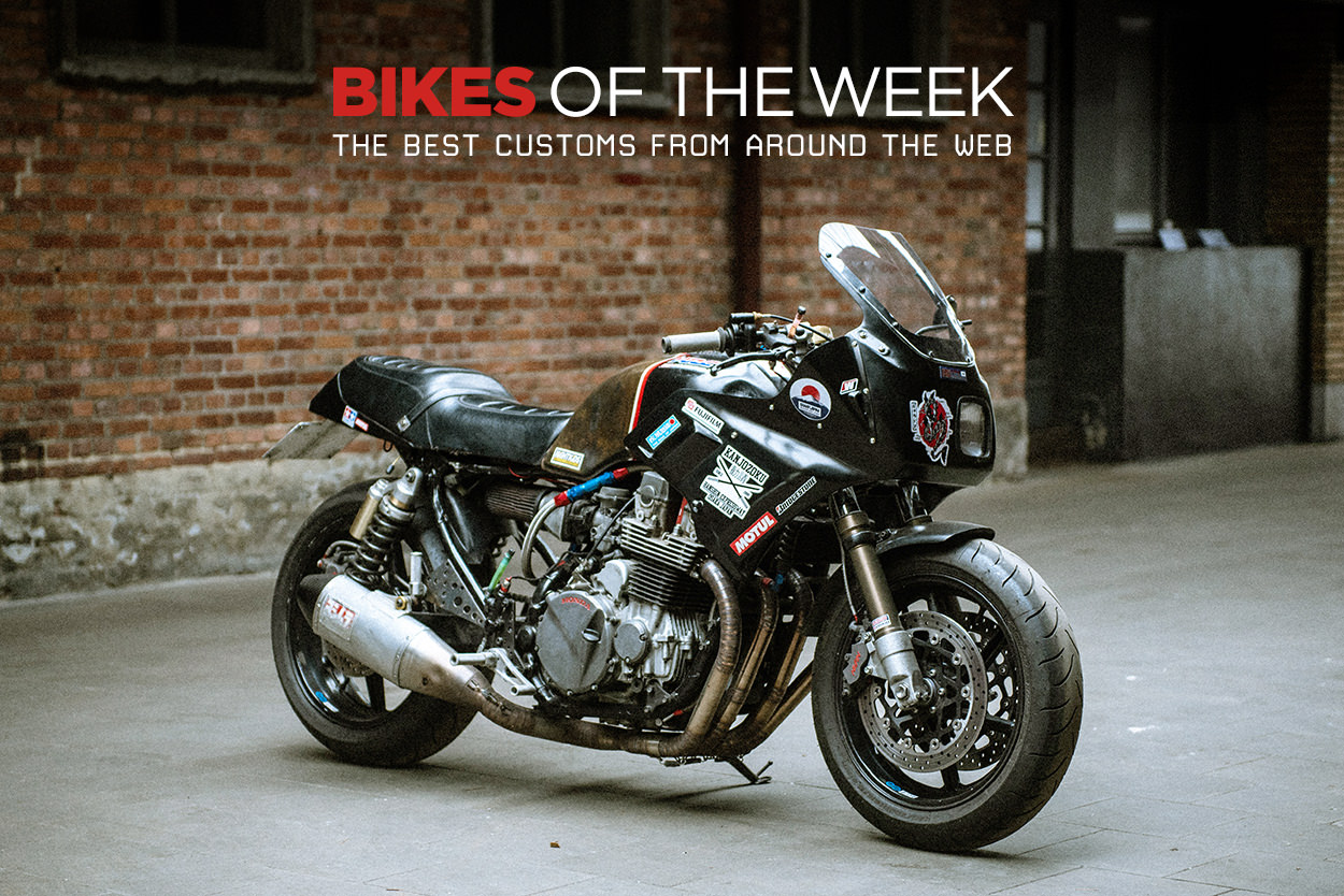 The best cafe racers, scramblers and racing motorcycles from around the web
