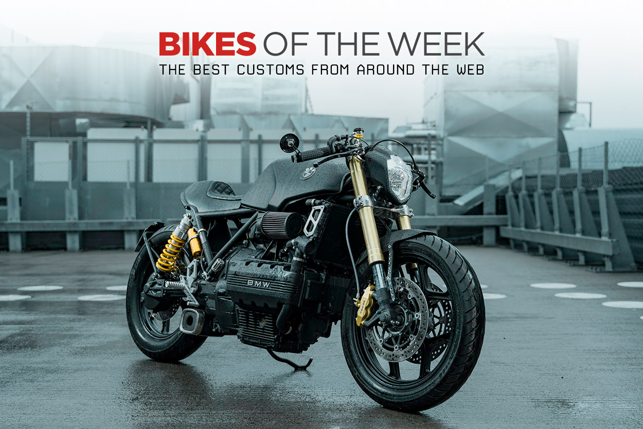 The best cafe racers, v-twins and racing motorcycles from around the web