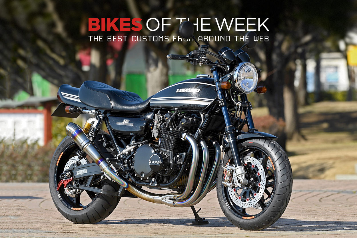 The best restomods, cafe racers and supercharged bikes from around the web