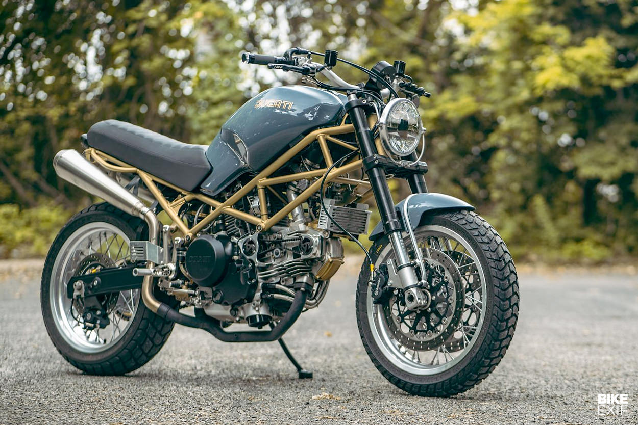 Custom 1999 Ducati Monster M750 by Revival Cycles