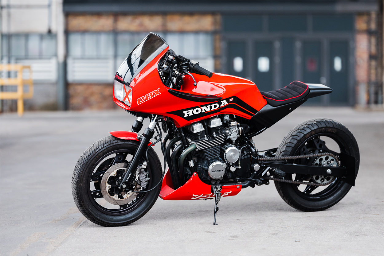 Custom 1986 Honda CBX750 by AMP Motorcycles