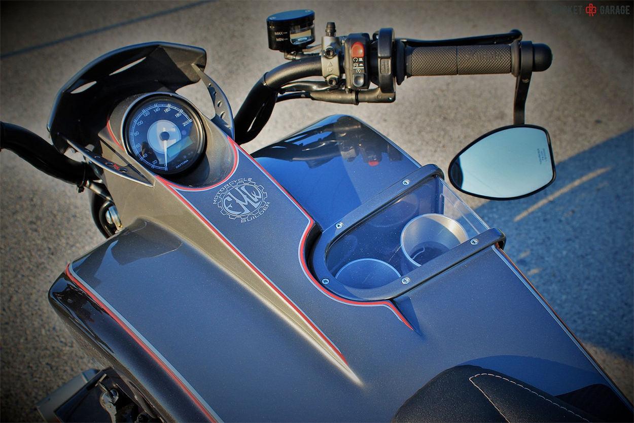 Custom Yamaha GTS 1000 by FMW Motorcycles