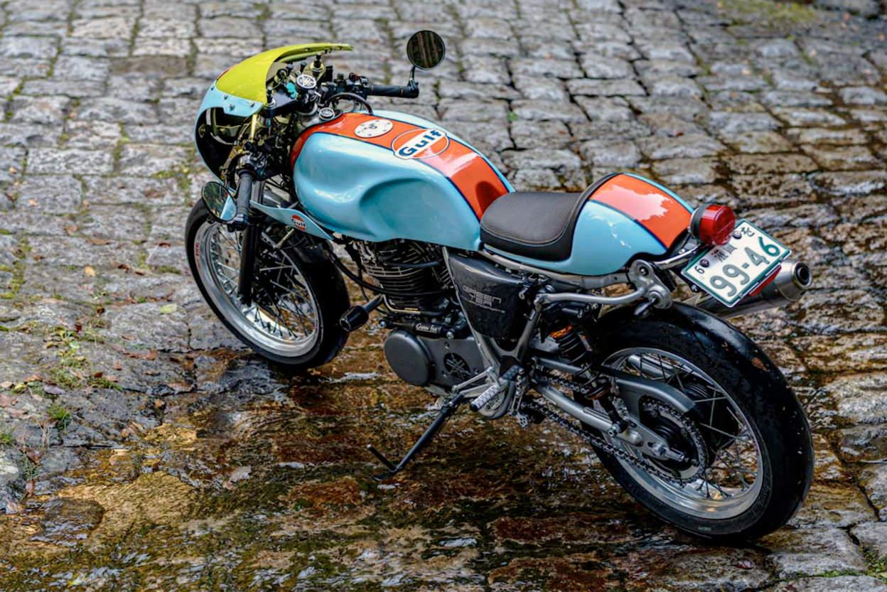 Custom Yamaha SR400 by 500King of Japan