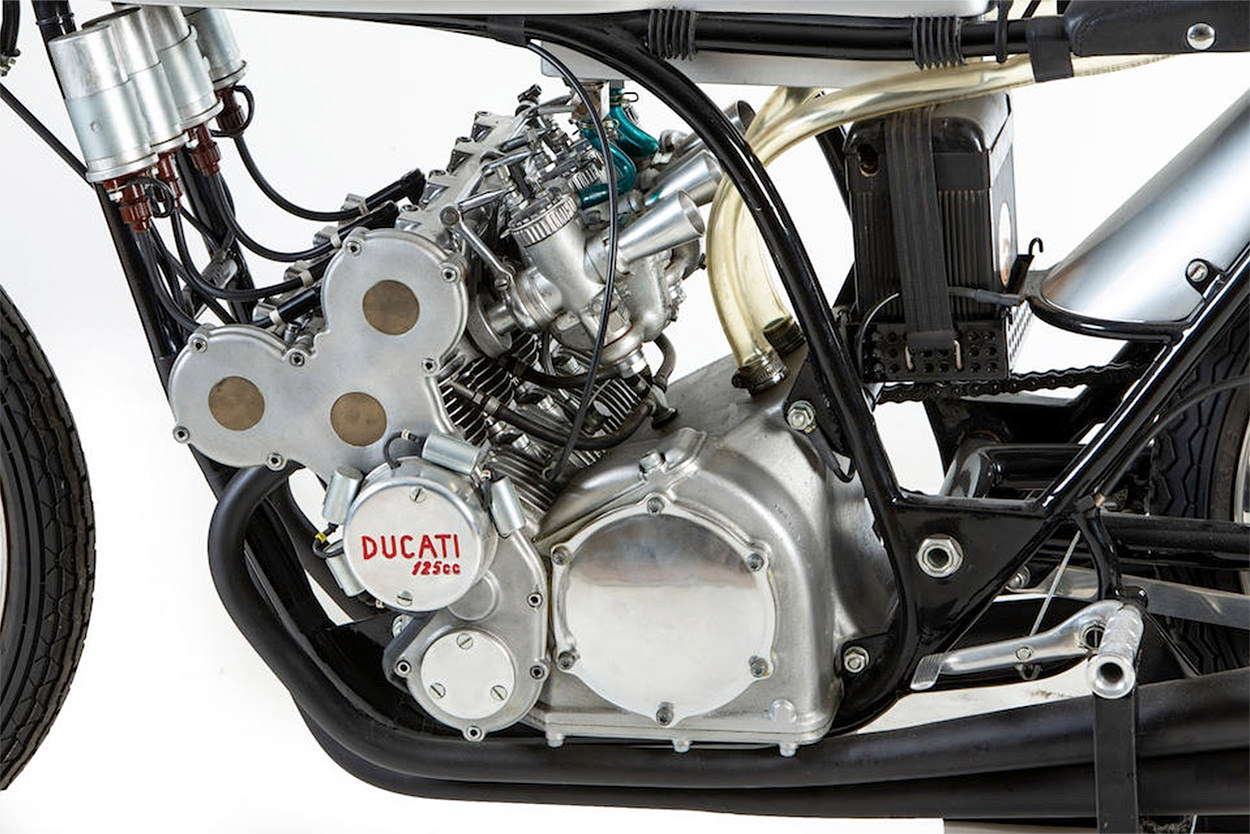 1965 Ducati 125 cc four-cylinder Grand Prix racer