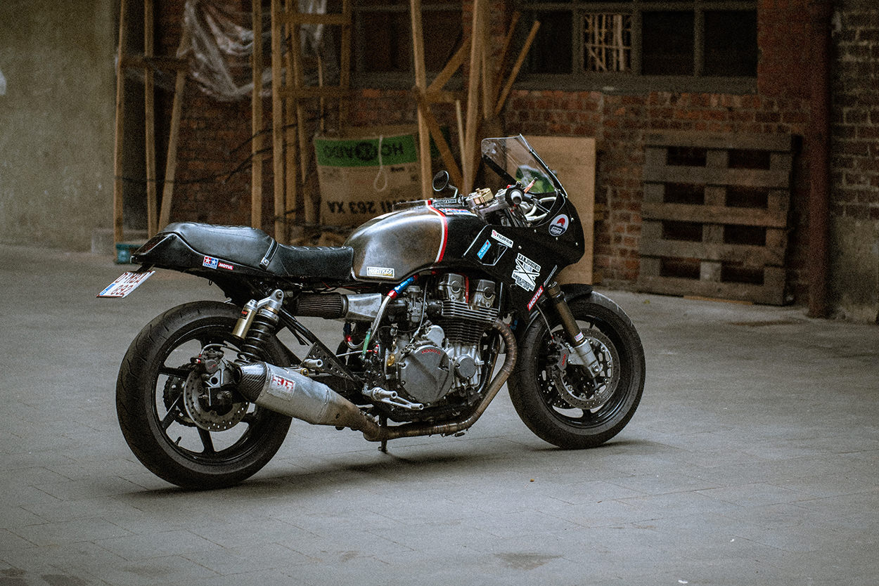 Honda CB750 by McFly Customs