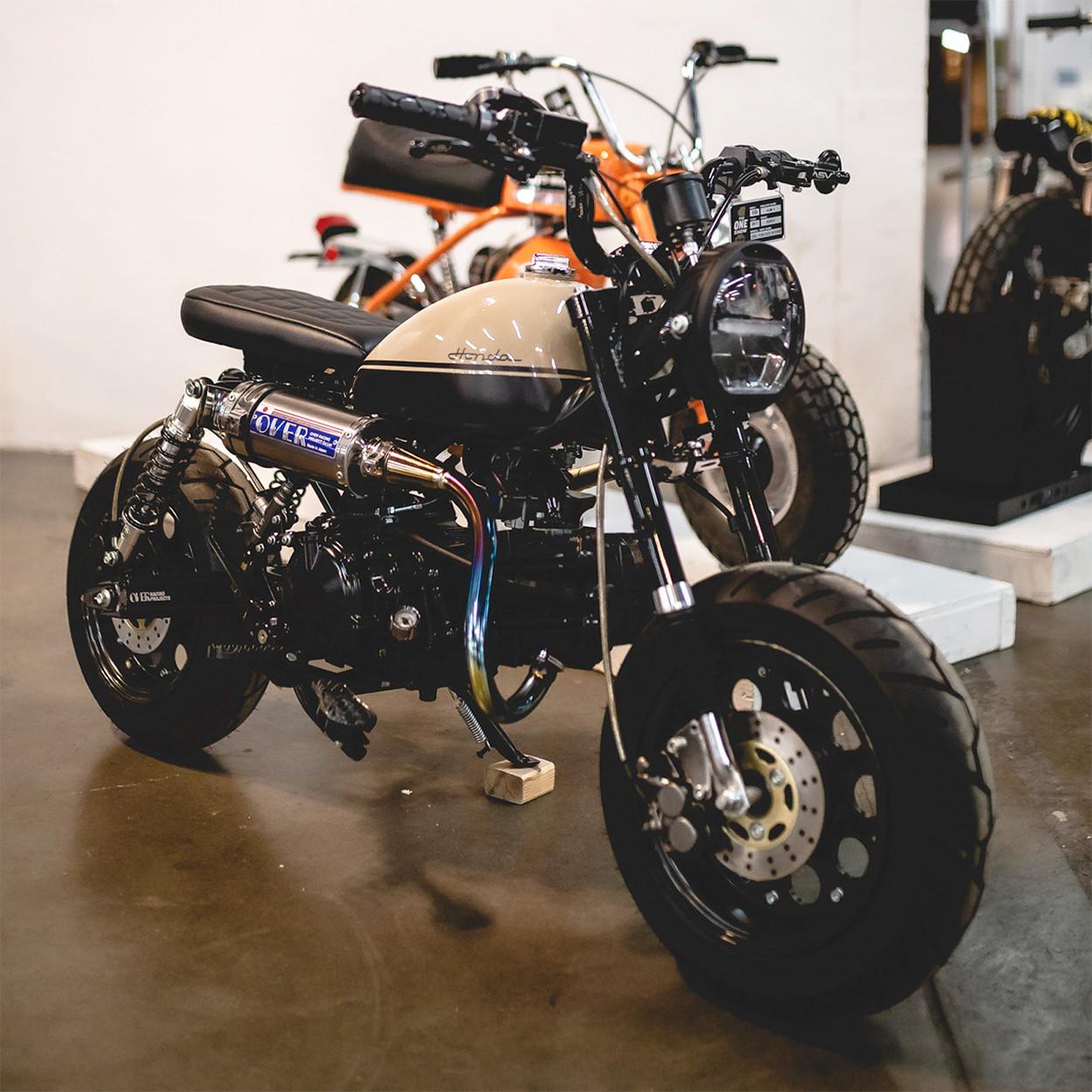 Honda Monkey Z50R by Row4 Design