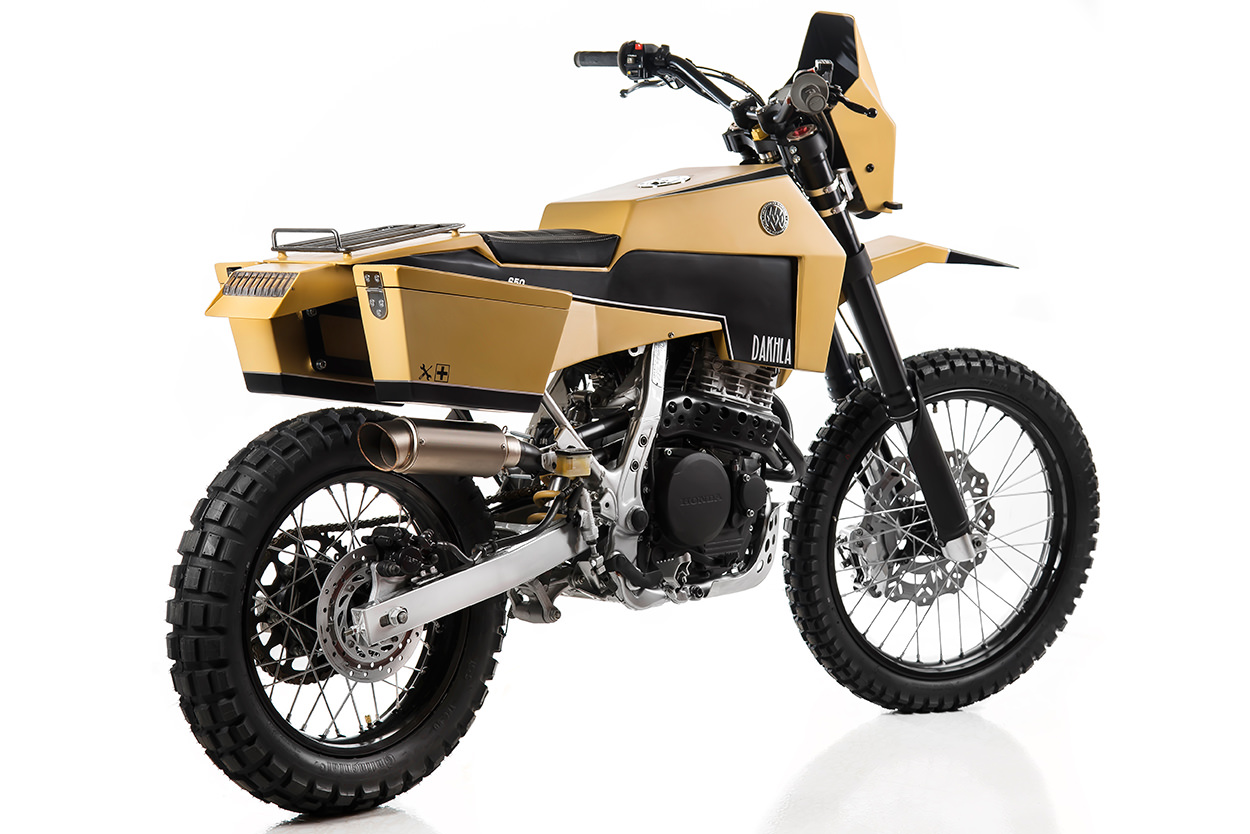Honda NX650 Dominator by Matteucci Garage