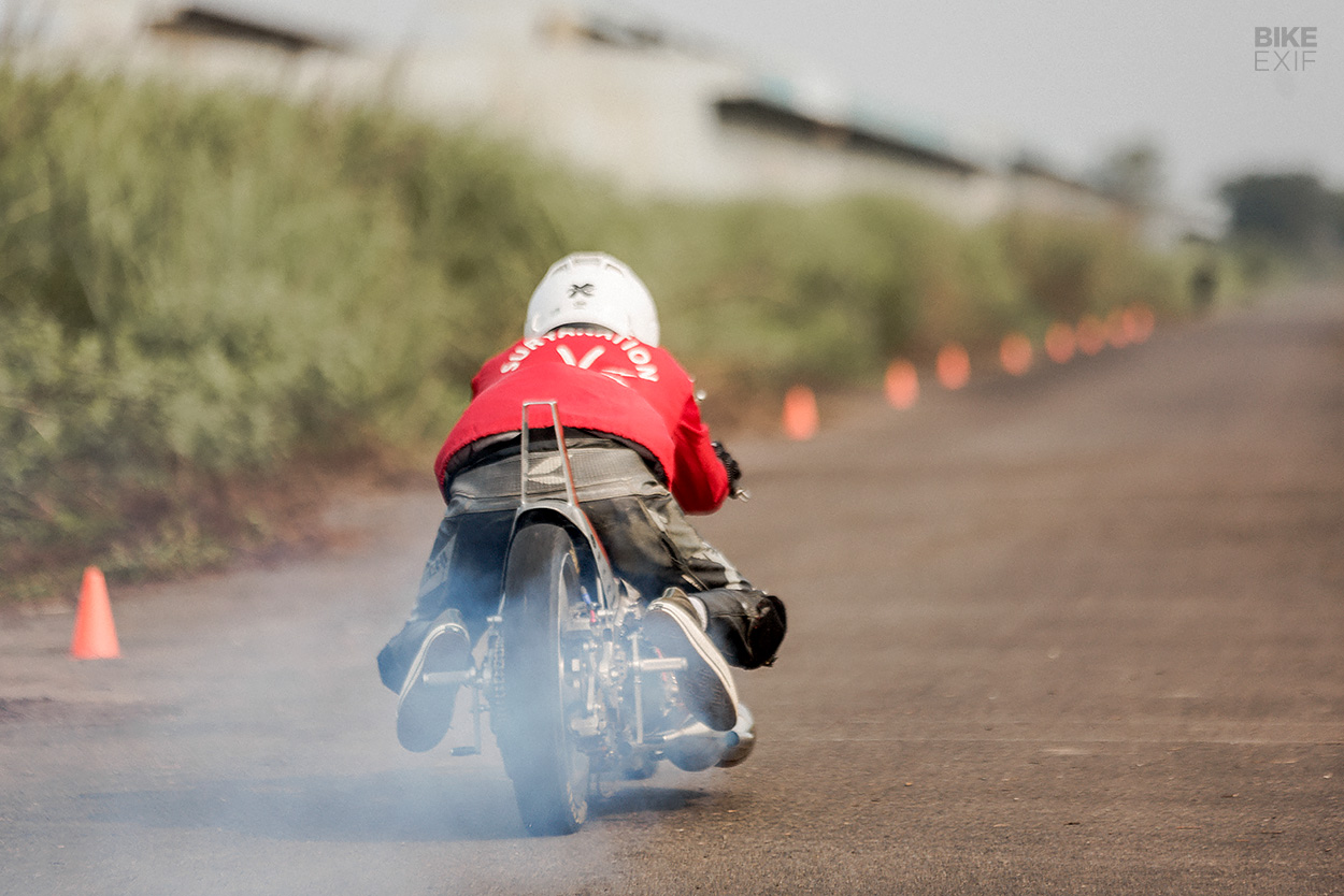 T 22 Synthesis: A twin-engined Kawasaki drag bike from Thrive