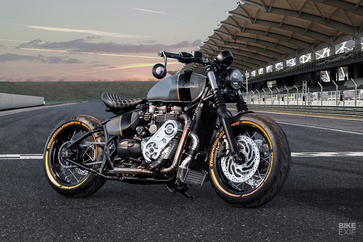 Supercharged Triumph Bobber by Thornton Hundred Motorcycles