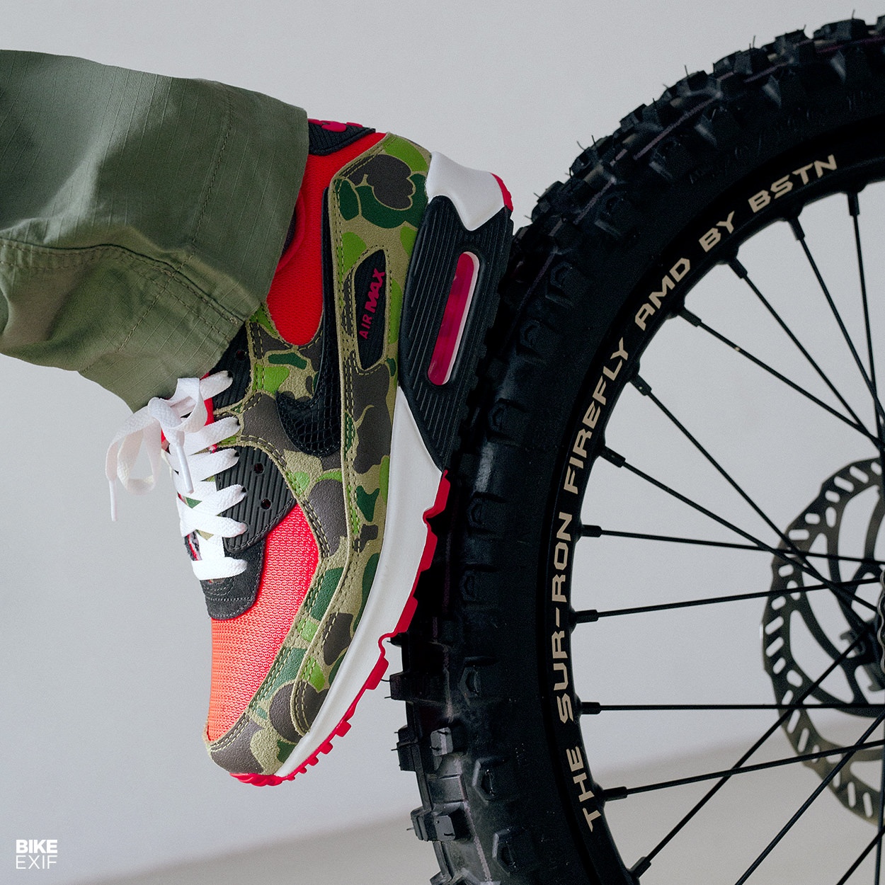 Sur-Ron bike: A custom Firefly built to celebrate Nike Air Max Day