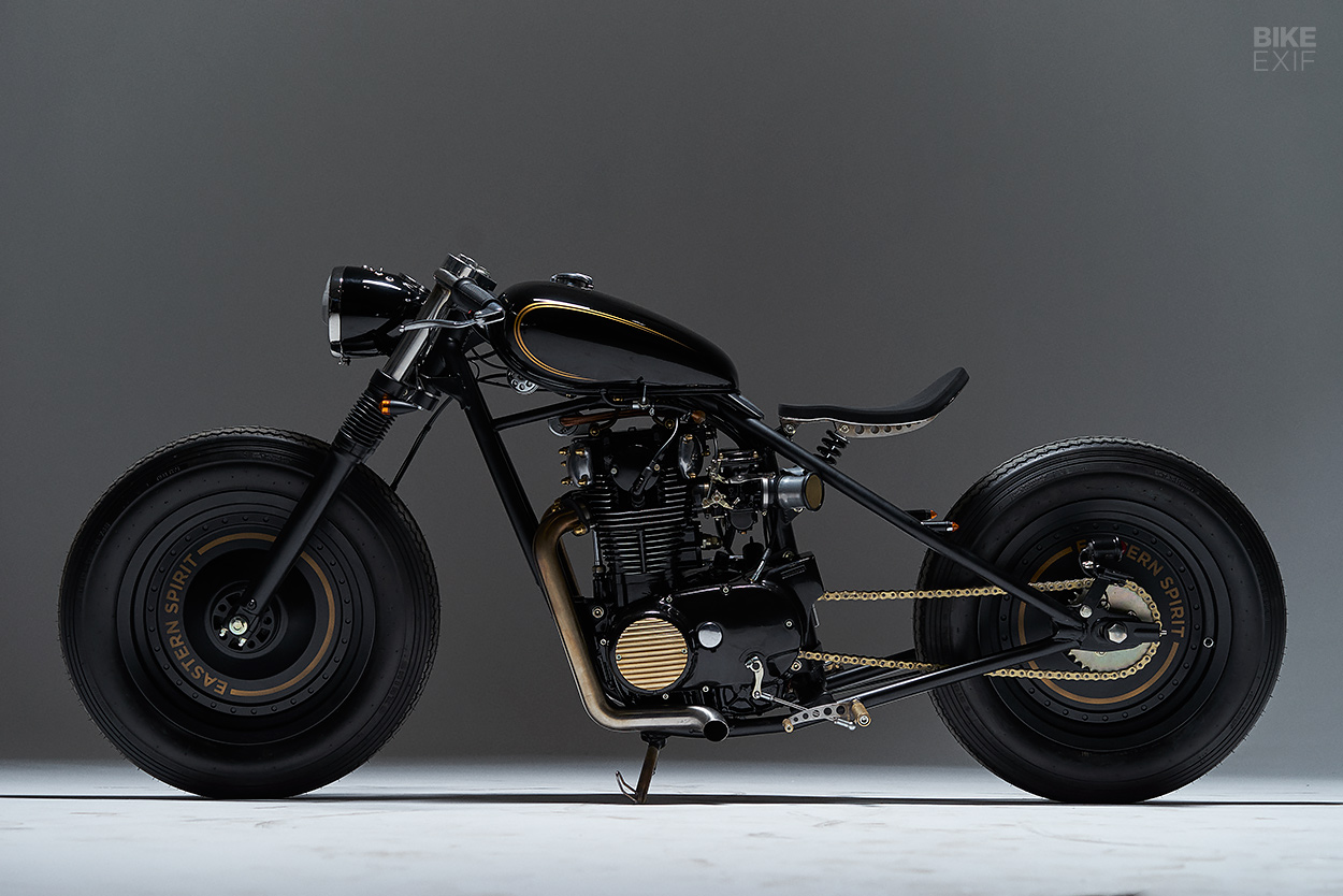 A Yamaha XS650 bobber from Eastern Spirit Garage of Poland