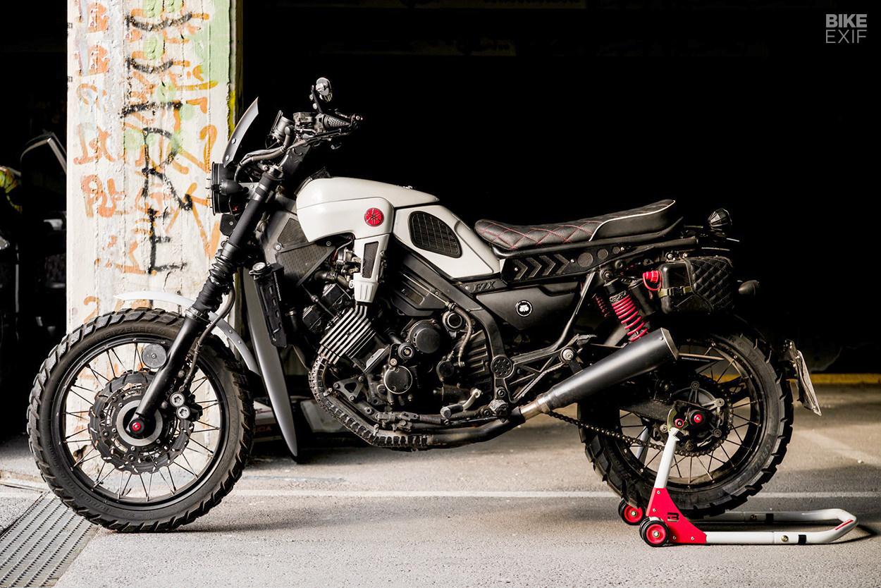 Yamaha FZX750 Fazer scrambler by Barracuda Moto