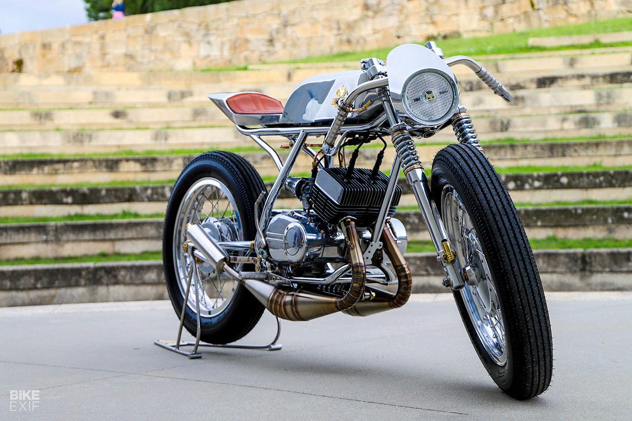 Yamaha RD 200 custom built from scratch by C.Custom Garage