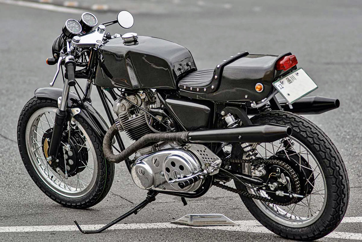 Norton Commando 850 by British Beat of Japan
