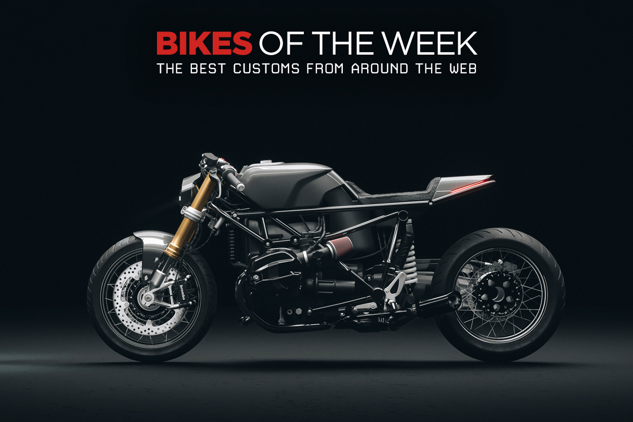 The best cafe racers, custom kits and electric bikes from around the web