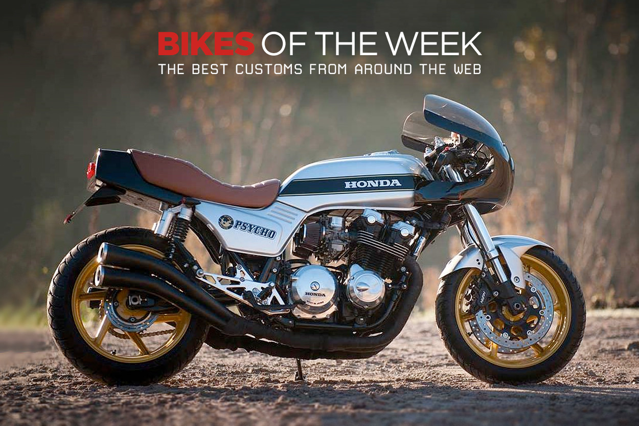 The best cafe racers and custom scramblers from around the web