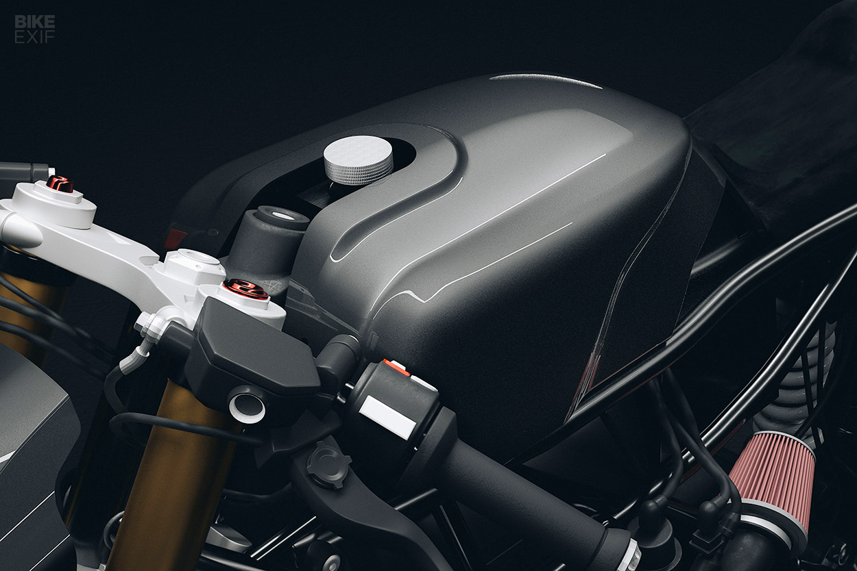 BMW R nineT cafe racer by Hookie Co
