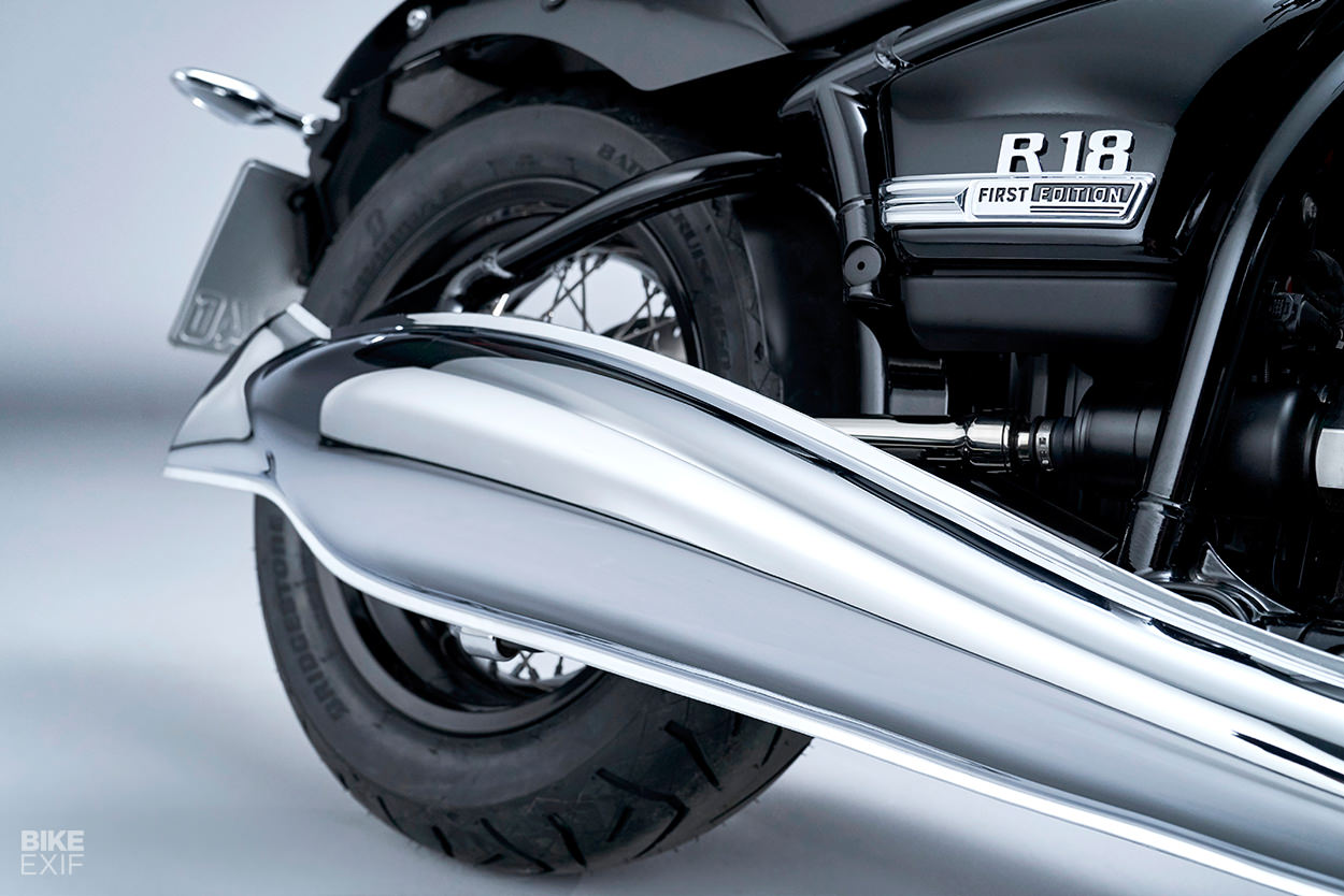 Revealed: The new BMW R18 cruiser motorcycle