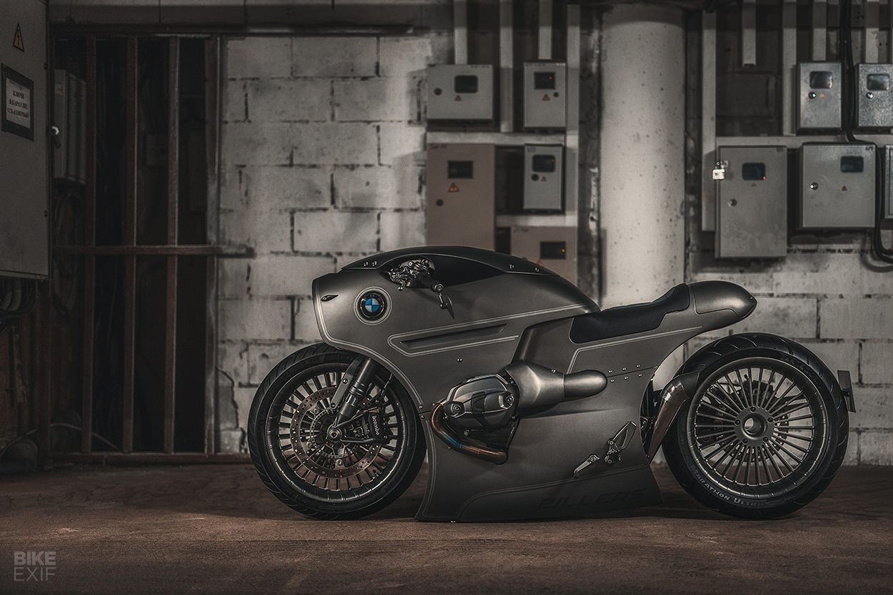 Slammed: A lowered BMW R nineT from Zillers Garage