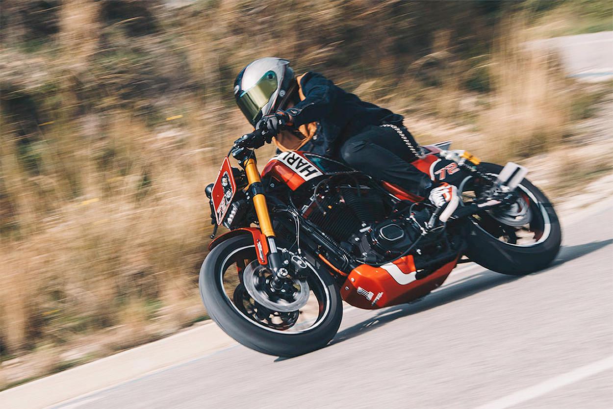Custom Harley-Davidson Sportster Roadster by H-D Barcelona