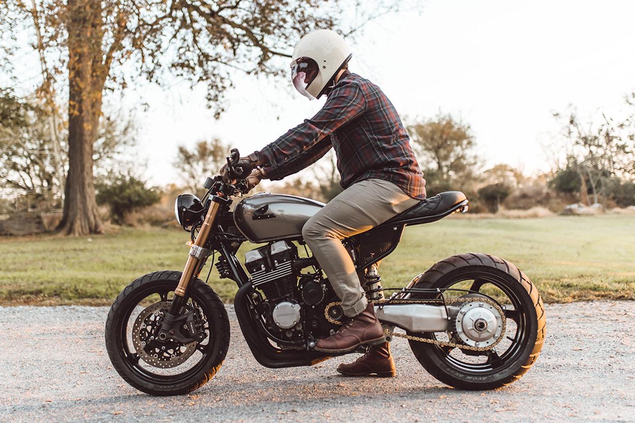 Custom Honda CB750 Nighthawk by FingersCrossed Moto