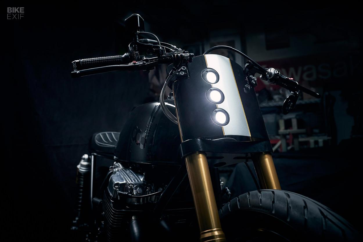 A CEO took a sabbatical to build this Honda CB750 cafe racer motorbike/