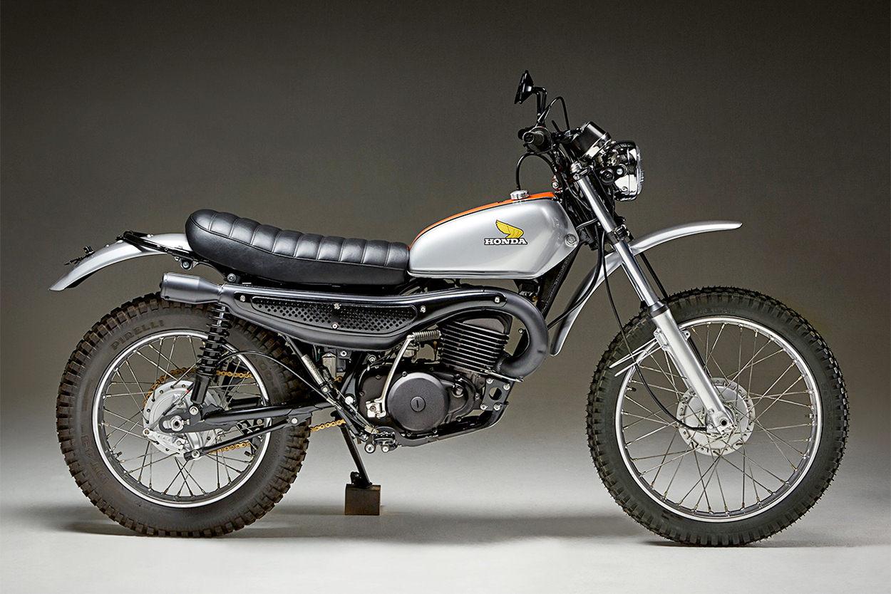 Honda MT250 Elsinore by Fossick Moto