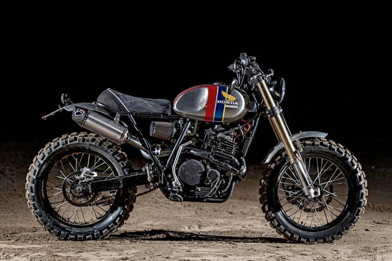Honda XR600 built for Dakar racer Joan Barreda Bort