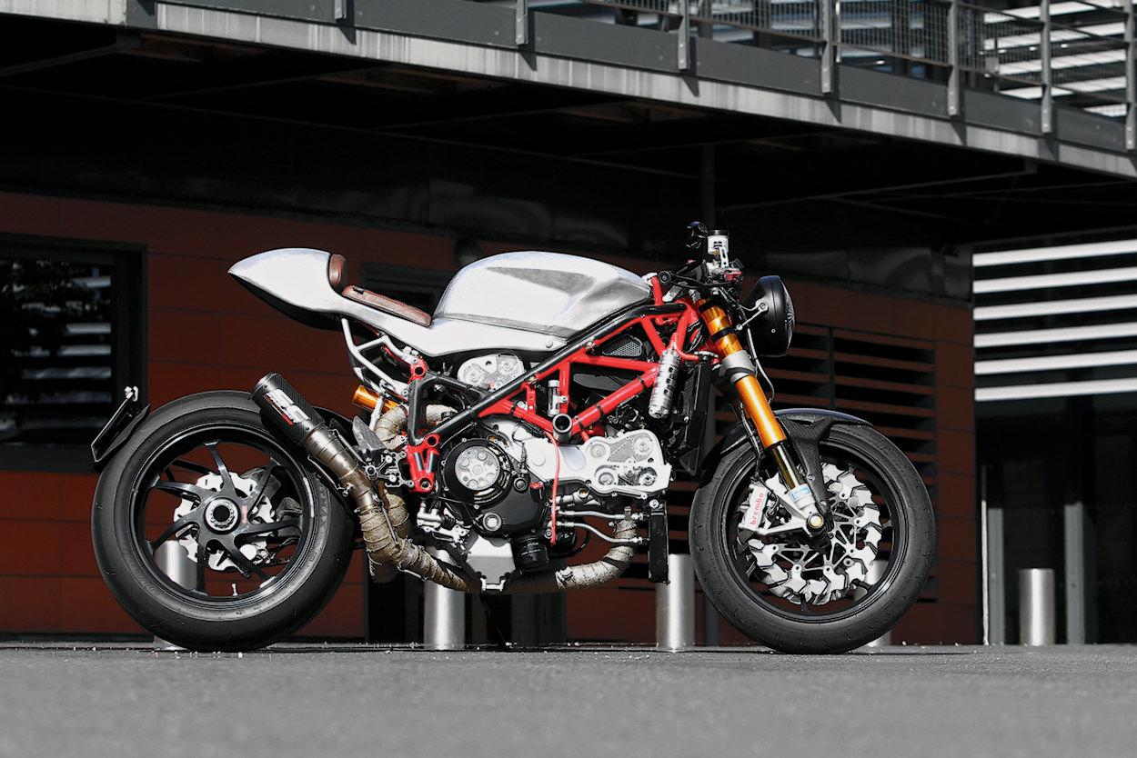 Custom Ducati 1198S Corse by Radical Ducati