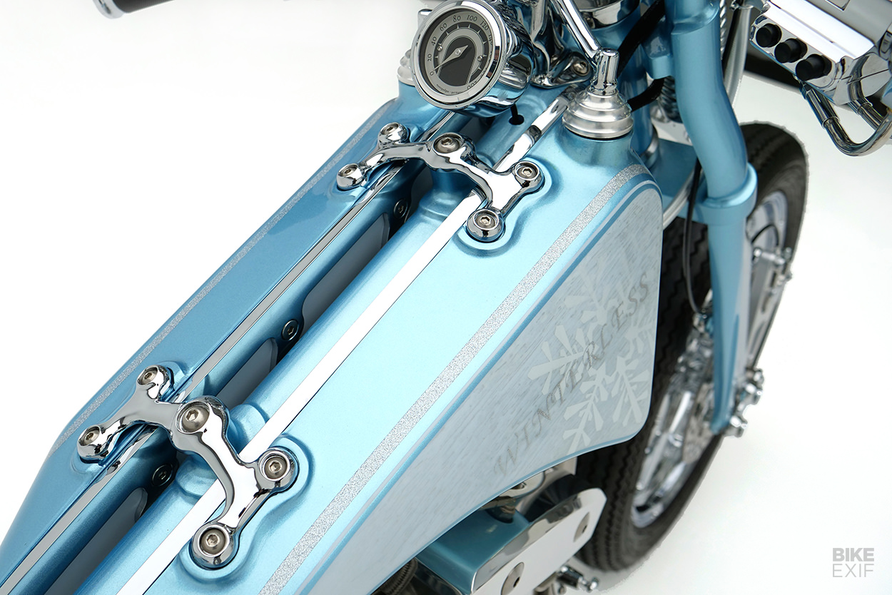 Korean style: An S&S shovelhead chopper from Winterless Craft