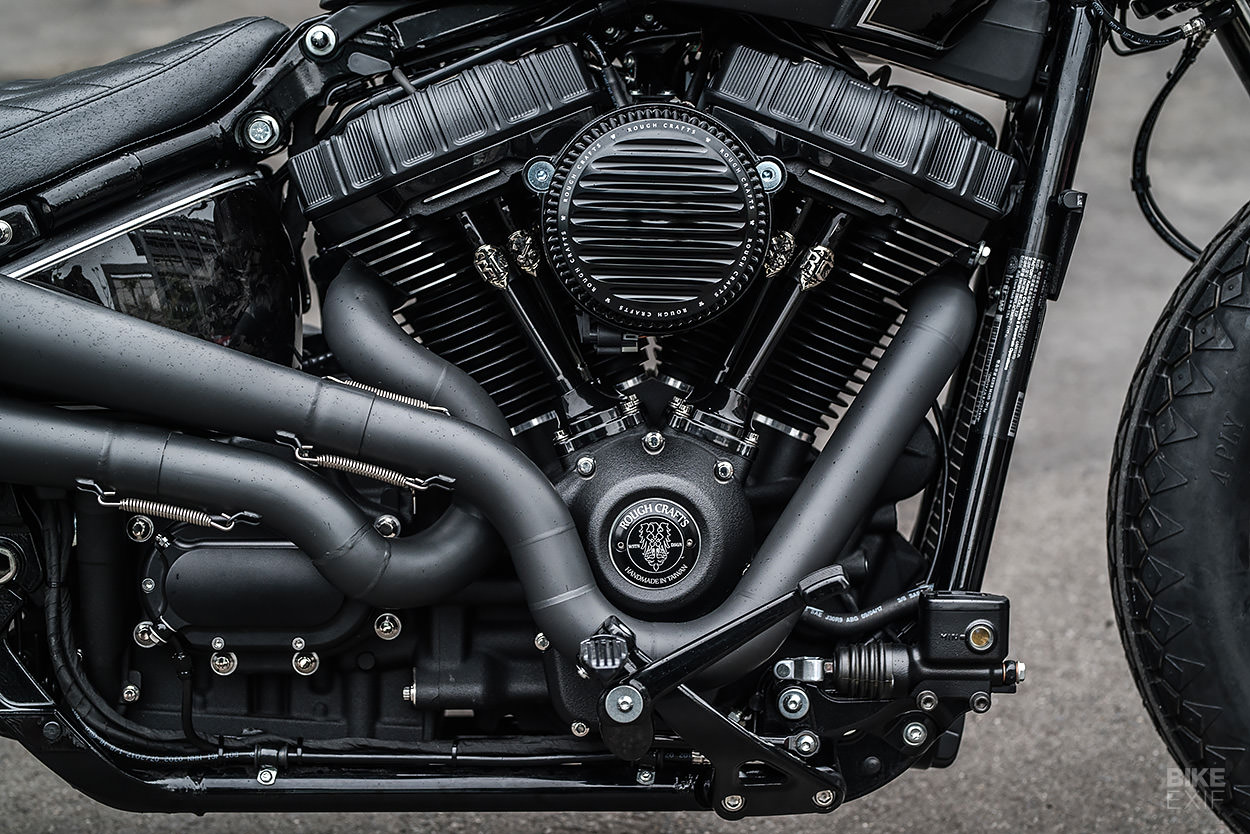 Thunder Chaser: Rough Crafts celebrates its 10th Anniversary with a Softail bobber