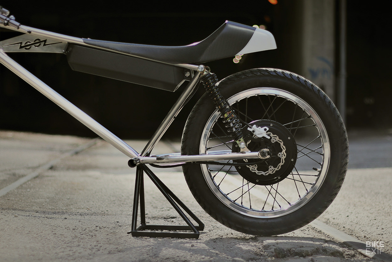This Zooz electric motorcycle concept hits 60mph and weighs just 85 pounds