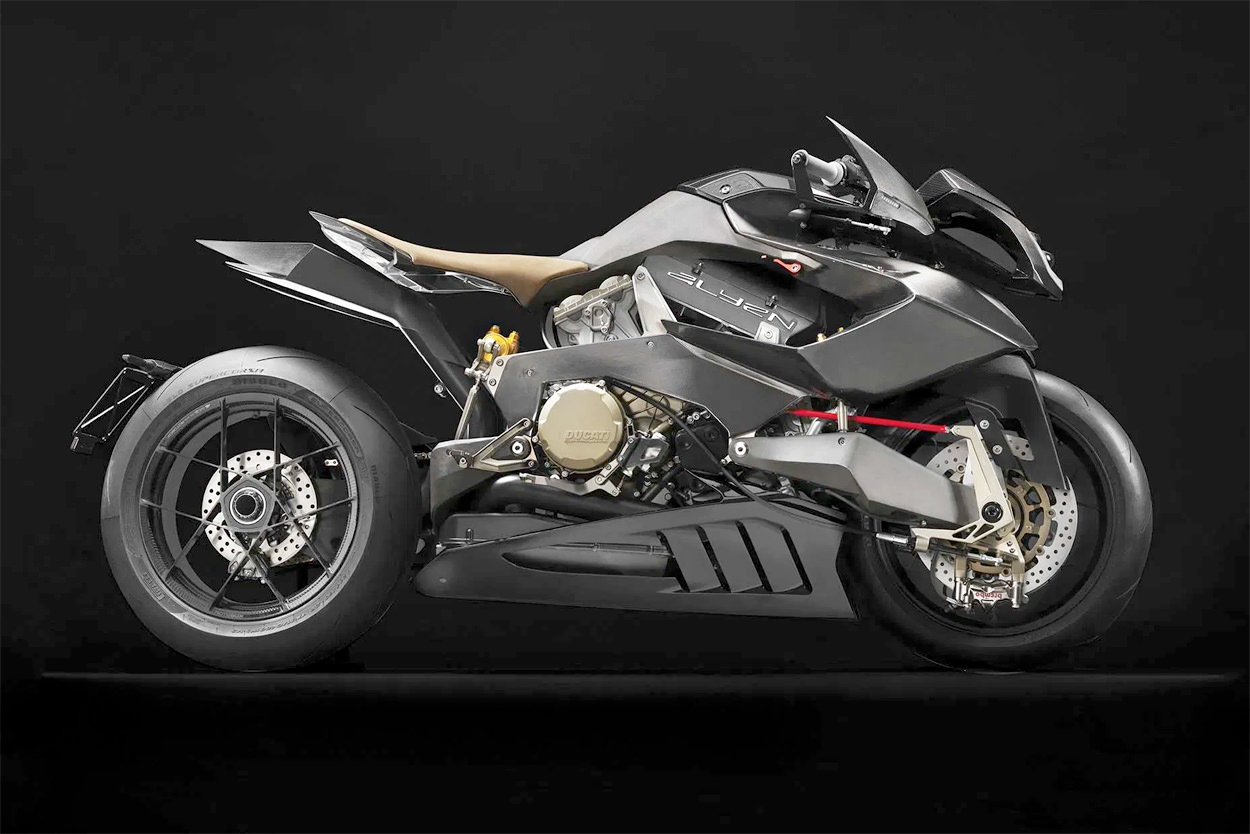 The extreme Vyrus Alyen Ducati-powered superbike