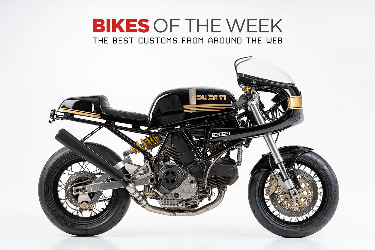 The best cafe racers and classic motorcycles from around the web