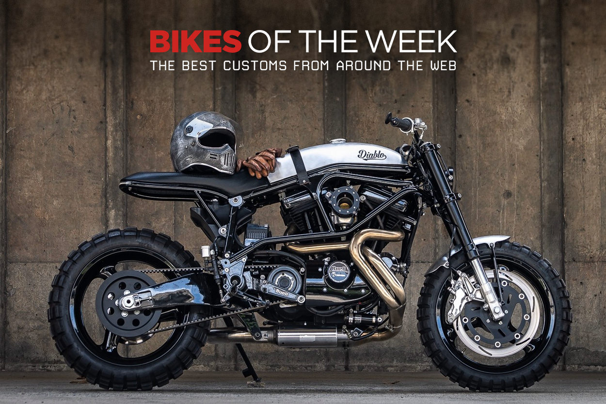 The best cafe racers and custom motorcycles from around the web