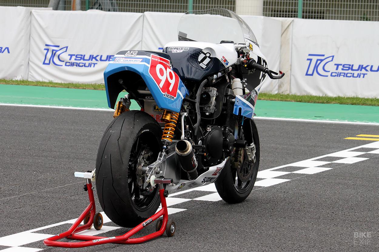Taste of Tsukuba: A classic Suzuki GS1200SS race bike
