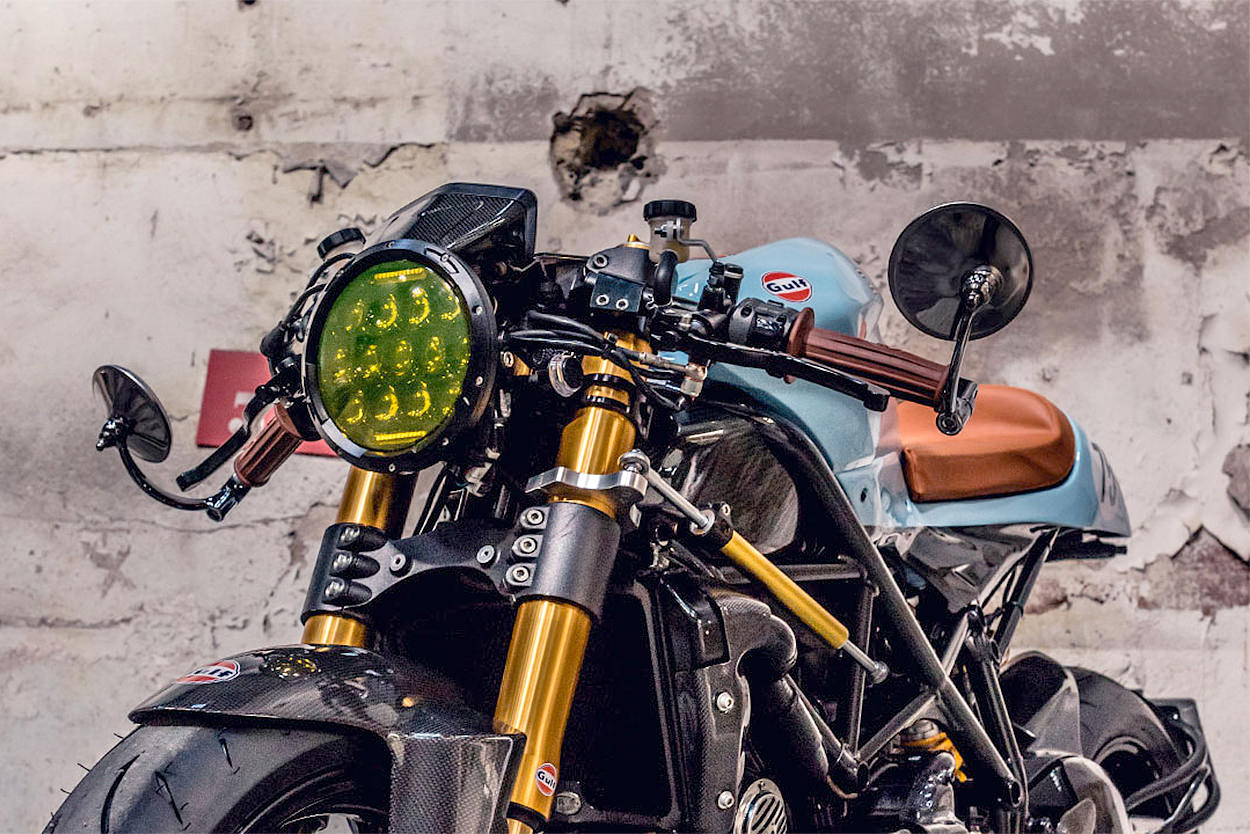 Custom Ducati Streetfighter S