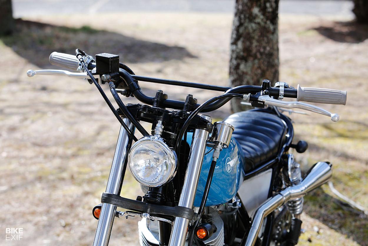 Suzuki TU250 scrambler by Heiwa