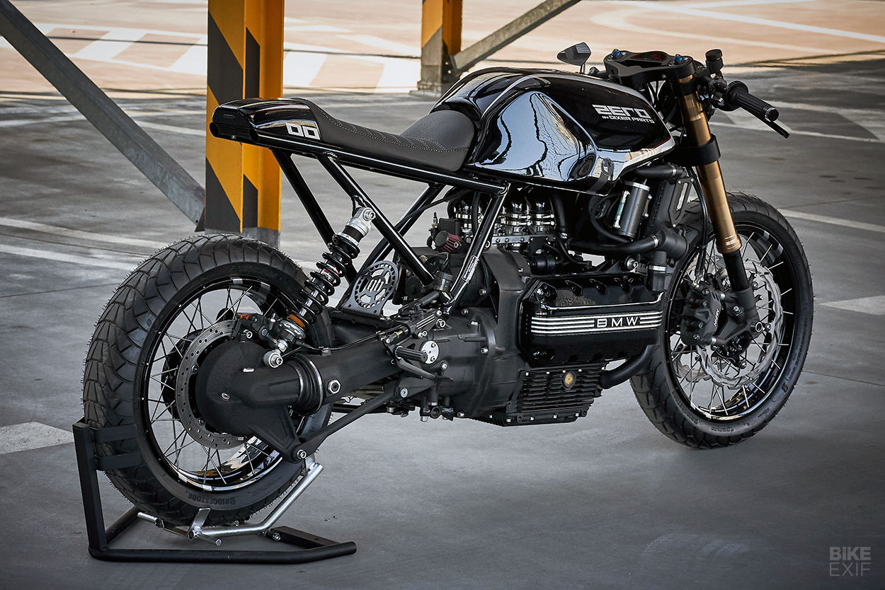 BMW K100RS cafe racer by Dixer Parts