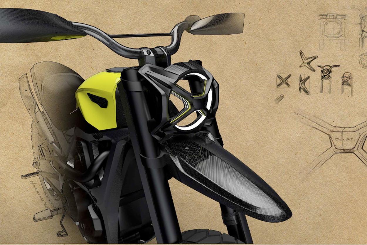 Ducati Scrambler concept design