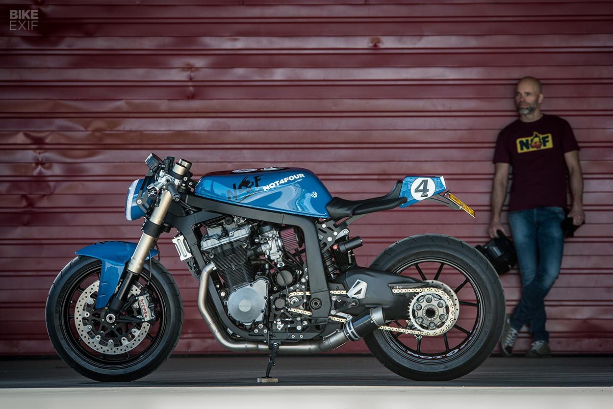 Gixxer Fix: A GSXR 1100 with Ducati superbike suspension
