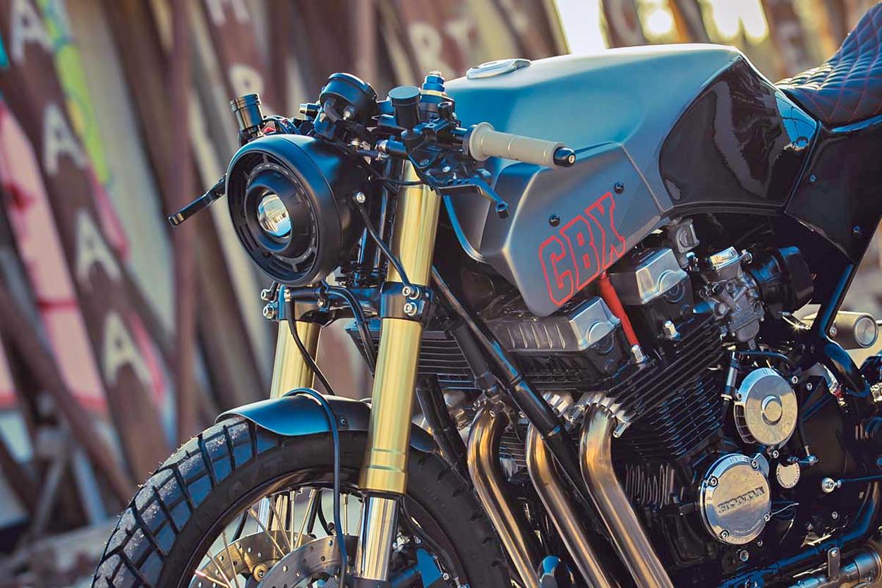 Honda CBX750 by Plus 3 Motors