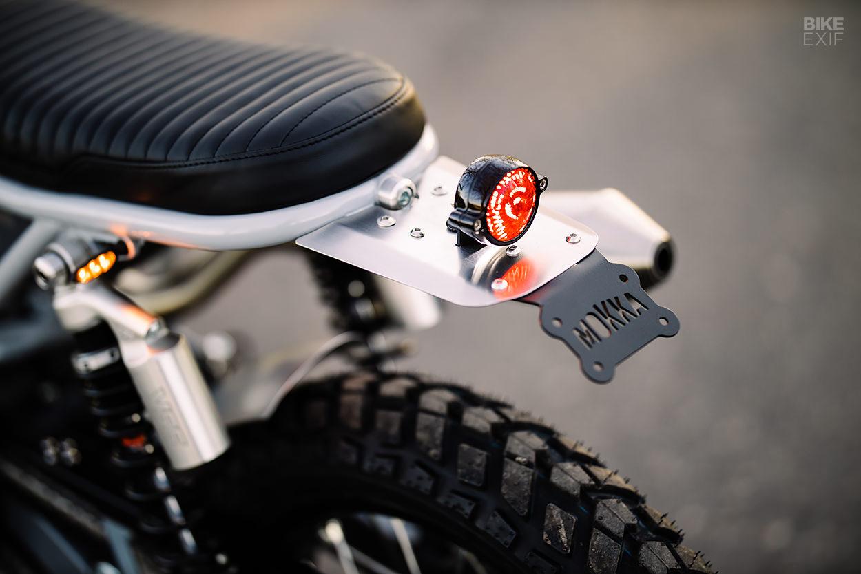 Custom Honda XR650 scrambler by Mokka Cycles
