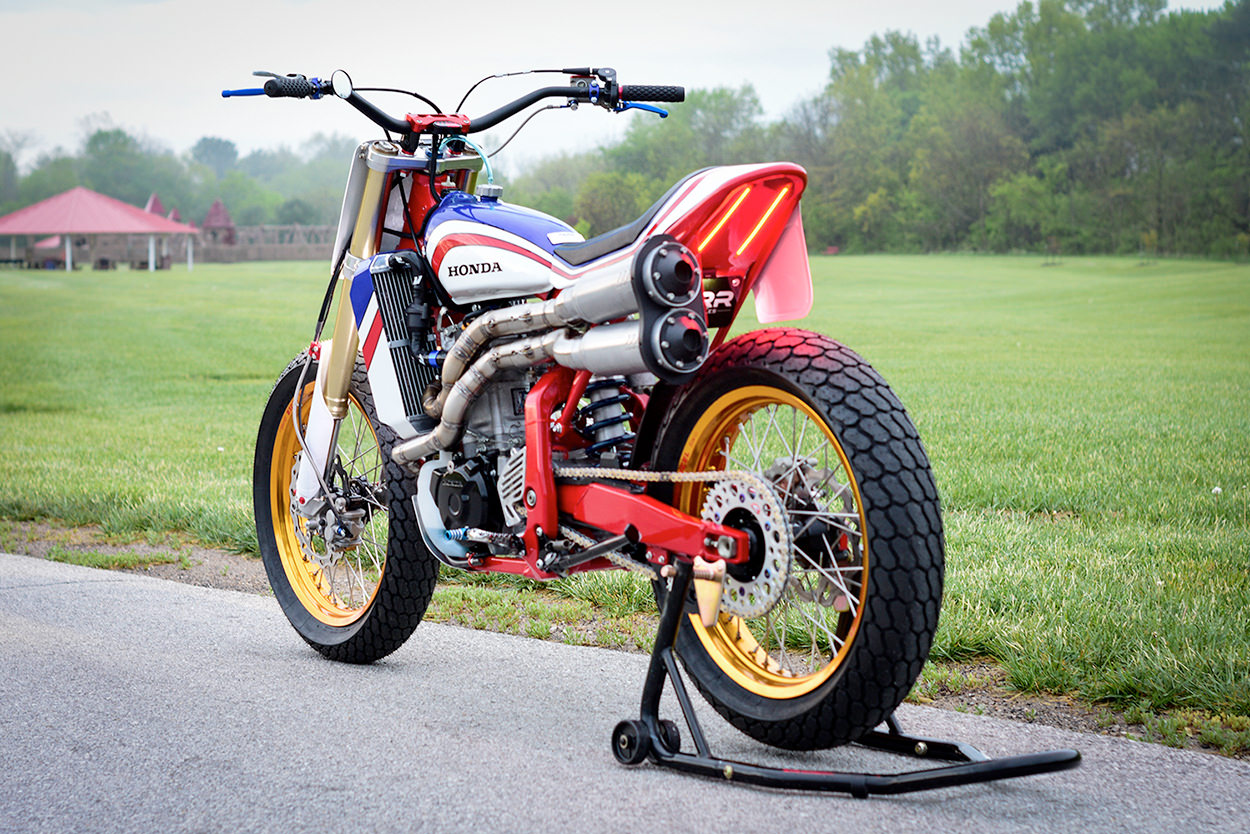 Honda XR650R tracker by Parr Motorcycles