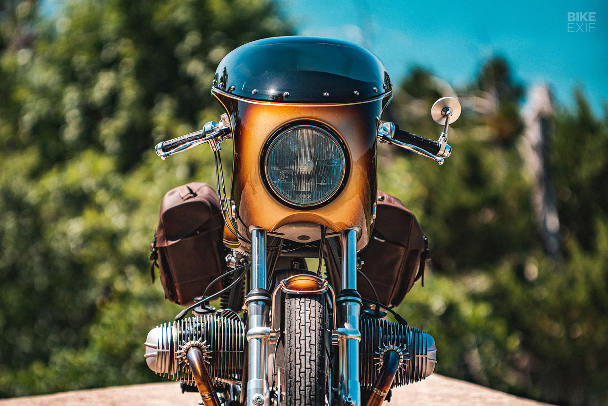 BMW R90/6 restomod by Revival Cycles