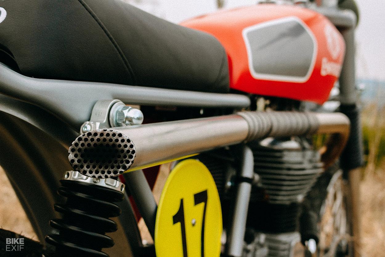 Royal Enfield Bullet 500 scrambler by Rod Motorcycles