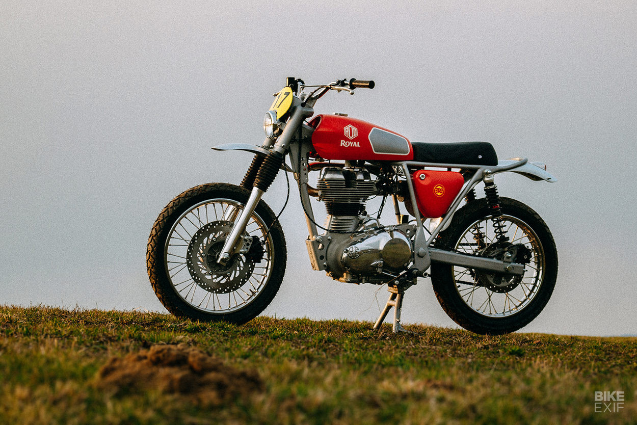 Royal Enfield Bullet 500 scrambler by Rod Motorcycles